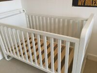 Mothercare cot/cotbed