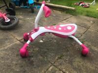 Girls scuttle bug bike