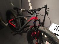 Cube nutrail fat bike for sale or swap