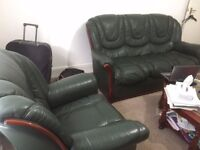 Italian Leather Sofa on sale. 4 seaters (3+1)