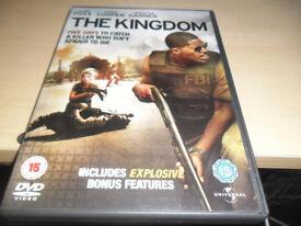 THE KINGDOM STARRING JAMIE FOXX REGION 2 DVD