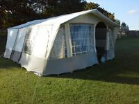 For Sale Conway Camargue 4 berth Trailer Tent waterproofed 2015