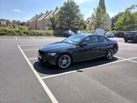 BMW E92 330i M Sport, black, manual, sunroof, great spec, tastefully modified