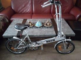 Vintage Bickerton Aluminium Folding Bike