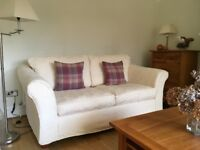 Marks and Spencer two seater sofa with removable covers