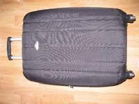 Black suitcase in good condition
