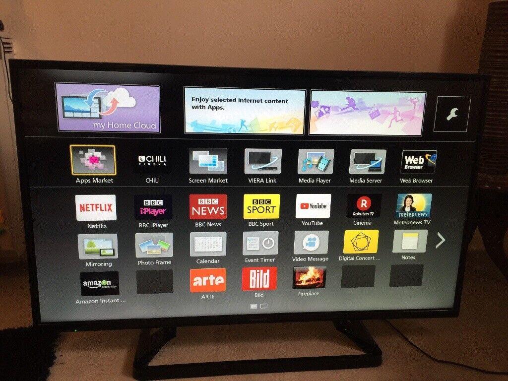 Panasonic Viera Smart Tv In Croydon London Gumtree
