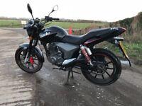KSR Code 125cc motorcycle 64 plate