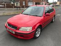 Honda Civic Red 1.5 for Sale Long MOT