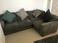 Corner sofa for sale, just under 2 years old immaculate condition