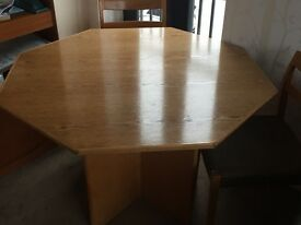 Retro G plan table and 4 chairs