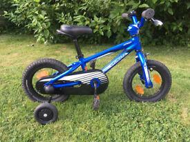 Specialized Hotrock 12 blue kids bike with original stabilisers & bell