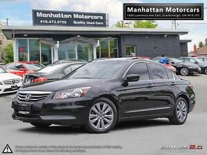 2012 HONDA ACCORD EX-L - LEATHER|ALLOYS|ROOF|1 OWNER|4 CYLINDER