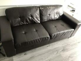 3 seater and armchair