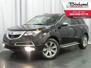 2013 Acura MDX Elite Pkg Navigation DVD Sunroof