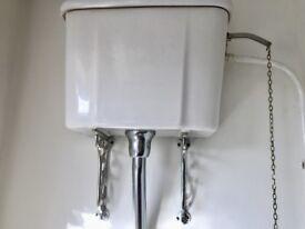 High level toilet cystern