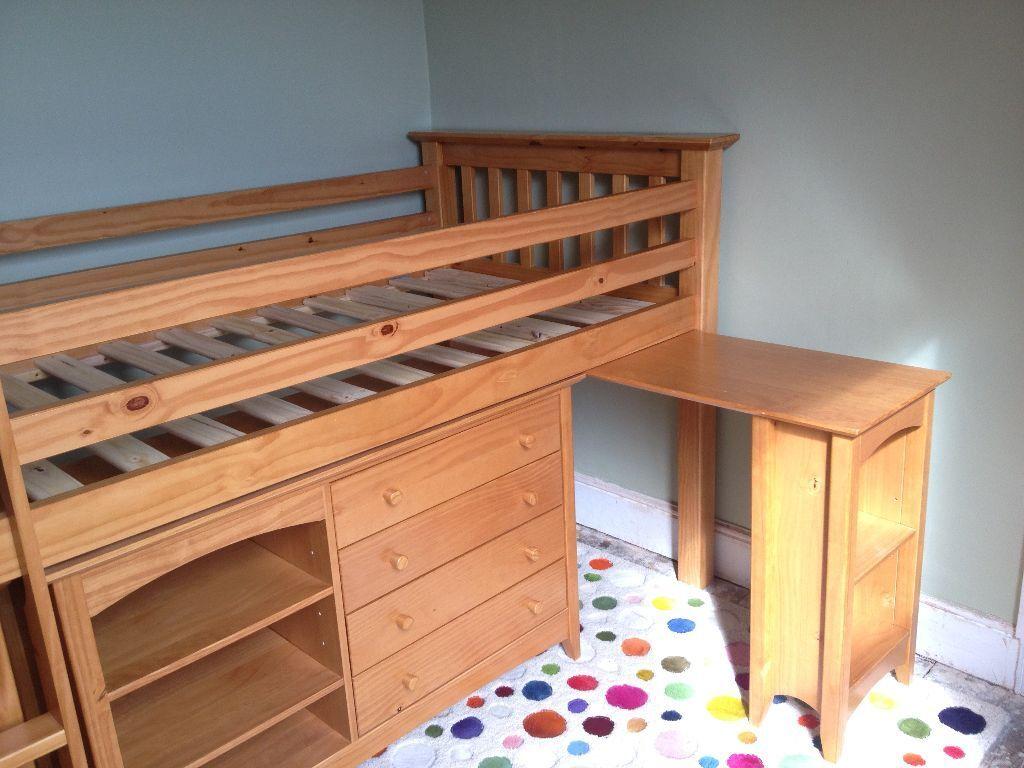 PRICE REDUCED Child 39 s Bedroom furniture set inc mid level bed - Reduced Bedroom Furniture