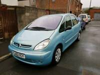 53 PLATE CITROEN PICASSO. 2 LITRE HDI DIESEL. IDEAL FAMILY CAR OR WORKHORSE. PX WELCOME