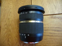 Tamron SP AF 10-24mm F/3.5-4.5 Di II LD Aspherical Lens for Sony A mount +Sigma 70-210mm