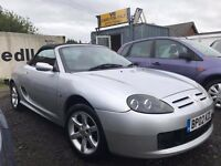 MG TF 1.8 135 2dr, 2002 (02 reg), Convertible, 96,782 miles ,MOT 19/03/2018, PART SERVICE HISTORY
