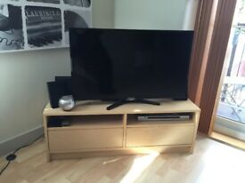 IKEA UNIT TV STAND AND STORAGE