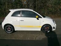 FIAT ABARTH 500 1.4 T-JET 2009 LOW MILEAGE 32K