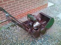 Collective / vintage atco garden lawn mower