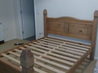 Double bed frame in great condition