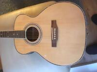 Chord electric acoustic guitar