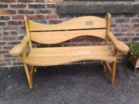 Worden Workshop Custom Garden Furniture and Memorial Benches