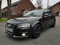 AUDI A3 1.8T S LINE FULL AUDI SERVICE HISTORY 1 PREVIOUS OWNER FROM NEW-LEATHERS SEATS 12 MONTH MOT