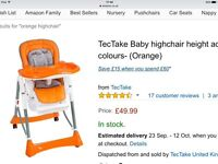 German baby highchairs