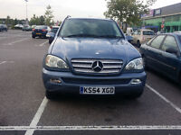 2005 Mercedes ML 270 cdi. Very good condition without oil leak. 3 former keepers
