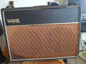 Vox AC30 1962 Original with Blue Speakers