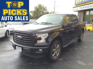 2016 Ford F-150 XLT SPORT CREW CAB, 4X4, BUCKETS & CONSOLE, 20'S