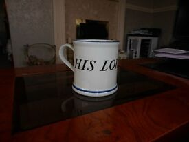 HIS LORDSHIP cup from National Trust