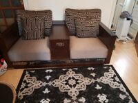 3 piece seater, 2 piece and 1 piece set of sofa chairs