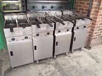 VALENTINE V200 TWIN TANK KITCHEN SHOP BAR TAKEAWAY PUB COMMERCIAL CHIPS FRYER CATERING CAFE