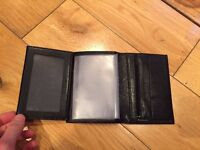 La Bagagerie black leather wallet