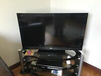 "Sony 40"" flat screen TV and Toshiba DVD recorder"