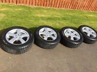 17''alloys with Nexen tyres in very good condition