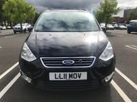 2011 Ford Galaxy 2.0 TDCi, Zetec, Powershift, 7 Seater, Automatic, Diesel, Long MOT