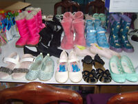 **SIZE 1 MEGA BARGAIN** 12 pairs of size 1's - from next snow boots to sparkly sandles