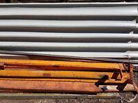 Steel sheets and racks
