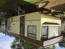 28ft Static Caravan for Sale 6 Birth Atlas Panache 1994 for removal only from Emberton Park