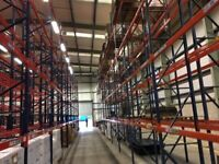 job lot 1000 BAYS dexion type pallet racking AS NEW( storage , industrial shelving )
