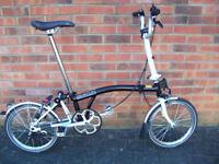 Brompton M3L Folding Bike. Mint!