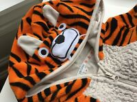John Lewis Tiger Onesie, age 7 years