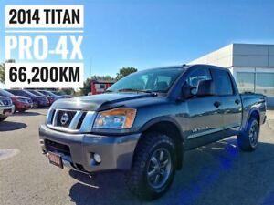 2014 Nissan Titan PRO-4X Crew Cab  FREE Delivery