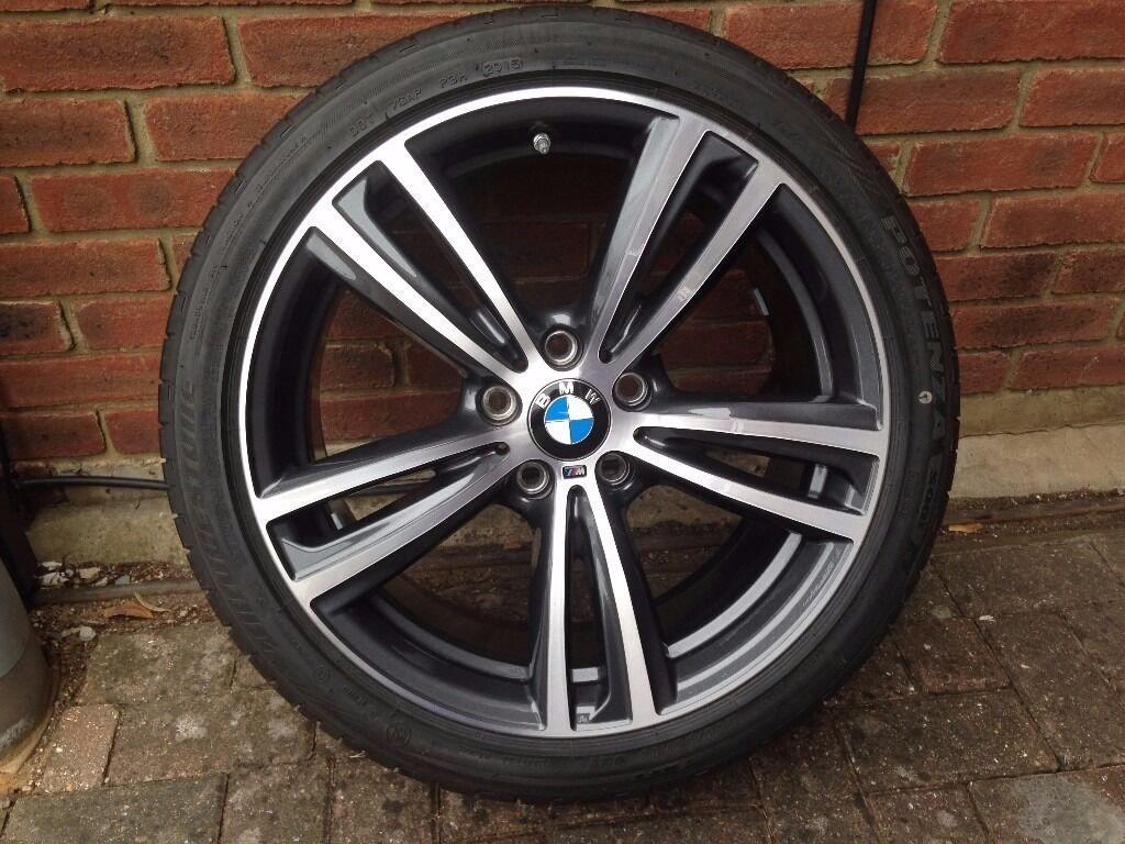 19 Quot Bmw 442m Double Spoke Alloys Wheels Amp Tyres In